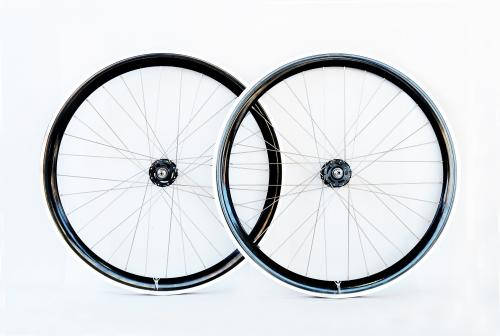 Black single Speed wheelset