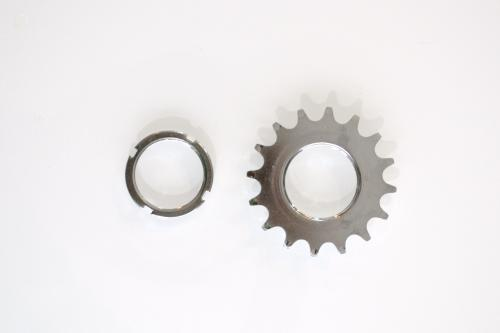 Fixie cog and cog ring