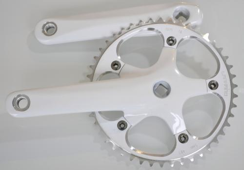Fixed gear crankset