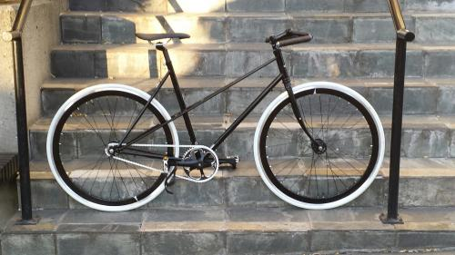 Single Mixte frame style