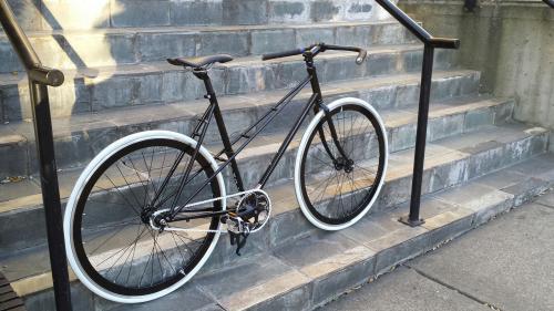 Mixte bike