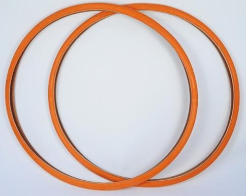 Fixie Orange Tires