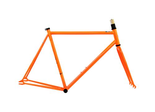 Single Speed Frameset Orange