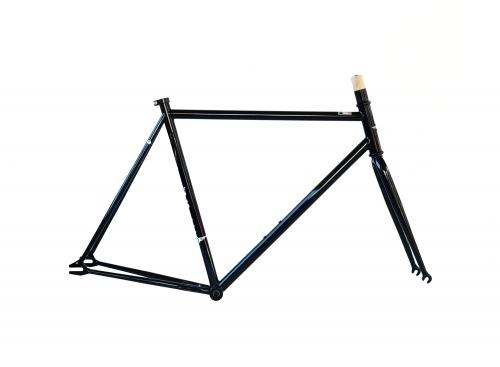 Single Speed Frameset Black