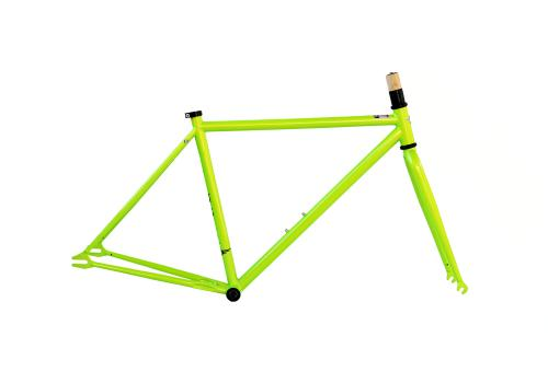 Single Speed Frameset Lime Green