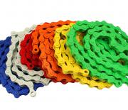 Color fixie bike chains